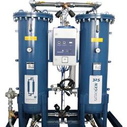 Generación de gases nitrogeno/oxigeno